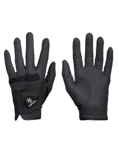 Un par de guantes de equitación Hirzl Basic; unos guantes básicos pero con grandes prestaciones.
