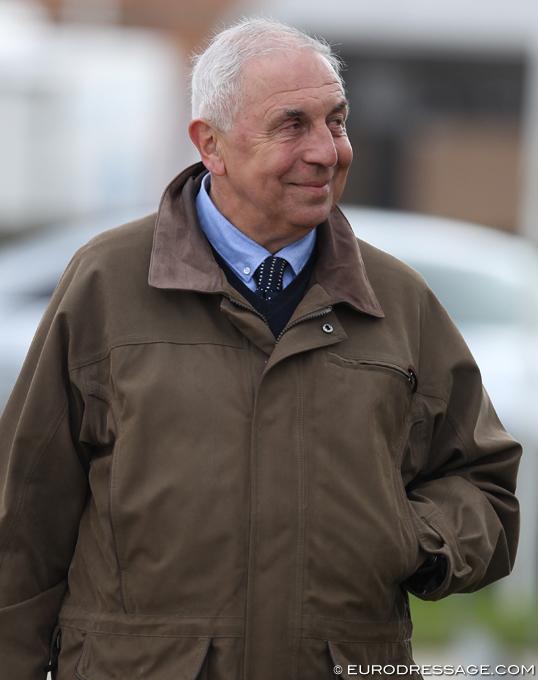 Jaques van Daele, un delegado testigo de trampas en concursos de doma con el contacto