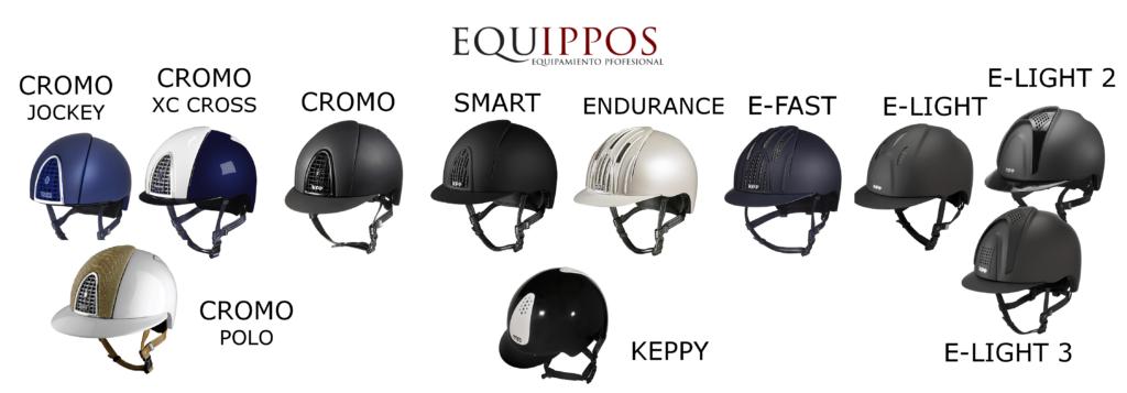 Los cascos KEP de Equippos.