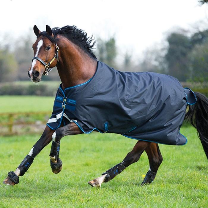 Manta de exterior para caballo en invierno