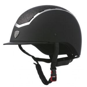 Casco de equitación Equithème Insert Lame, un casco low cost sin camaras de aire y con una funda interior intercambiable.