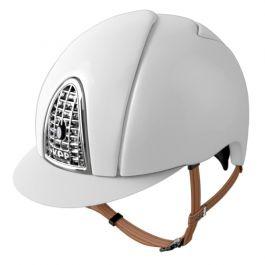 Un casco KEP Shine Bianco.
